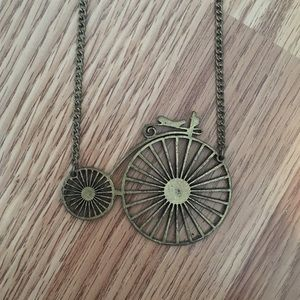 Jewelry - Bicycle Necklace